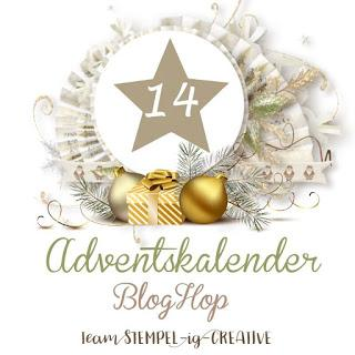 Stampin UP! Team Adventskalender Blog Hop - Türchen Nr. 14