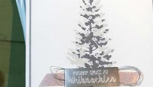 zarter Weihnachtsbaum