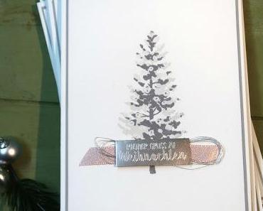 Ein zarter Weihnachtsbaum
