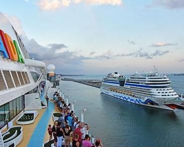 AIDA lädt auch 2018 zum Schiffsbesuch auf die Kussmundschiffe ein