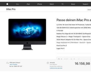Der neue iMac Pro – teurer denn je