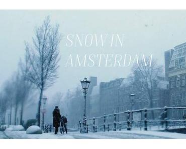 Reiselust: Snow in Amsterdam