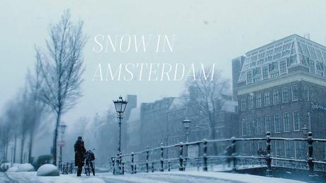 Reiselust: Snow in Amsterdam