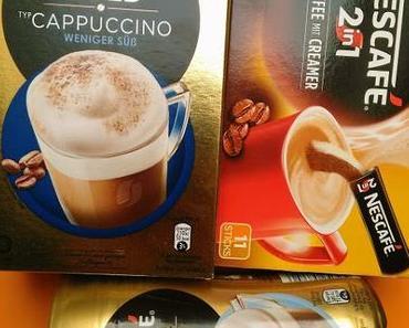 [Werbung] Testergebnis Nescafé Produkte - Kaffee mit Creamer, Cappuccino, Latte