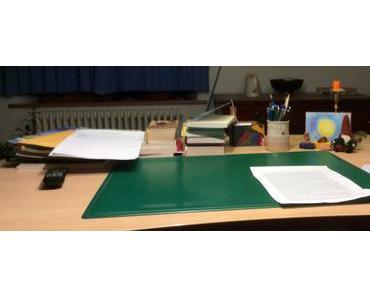 Der Schreibtisch – Blick in meine Alltagswelt