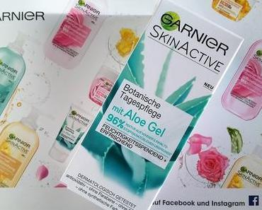 [Werbung] Garnier Botanische Tagespflege mit Aloe Gel + Perlodent med Brillantweiss Zahncreme