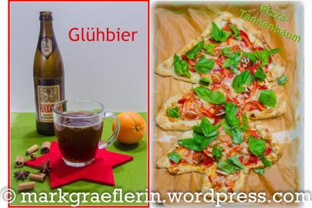 Pizza Tannenbaum.Glühbier Und Pizza Tannenbaum