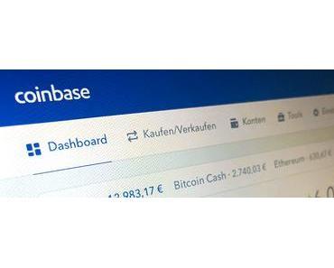 Bitcoin, Ethereum, Litecoin, oder Bitcoin Cash auf Coinbase einfach und sicher kaufen/verkaufen