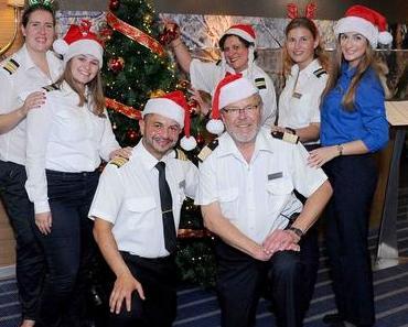 Weihnachten auf der MS Berlin unterwegs in der Karibik