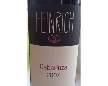 Heinrich – Gabarinza 2007 – Rotwein verkostet