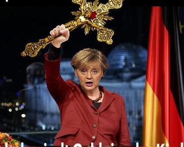 Neujahrsansprache 2018: Angela Merkel kritisiert die hemmungslose Geldgier der christlichen Kirchen