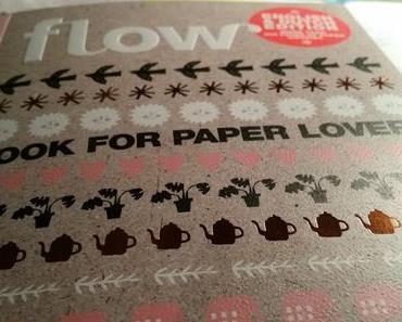 [DIY] Basteln mit dem FLOW book for paper lovers #1