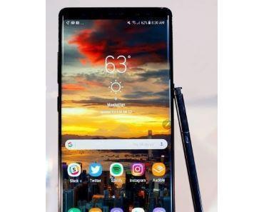 Das Akku-Problem des Galaxy Note 8