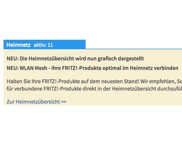 FRITZ!OS 6.93 noch im alten Jahr am 21.12.2017 veröffentlicht für FritzBox 7490