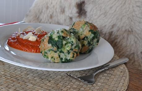 Resteverwertung: Spinatknödel