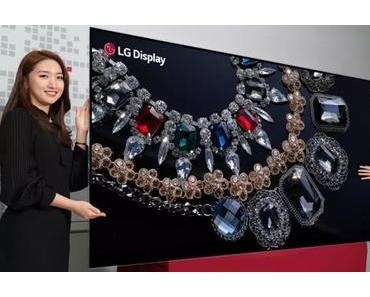 LG bringt zur CES 2018 einen 88-Zoll-Bildschirm