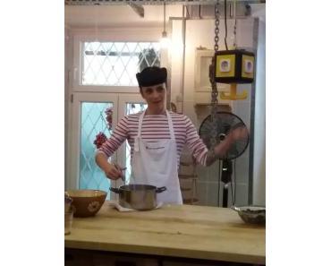 Backen mit Melissa Forti – Brownieküchlein mit schwarzem Reis