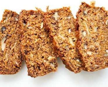 Walnuss-Dattel-Brot mit Hokkaido (vegan + glutenfrei)