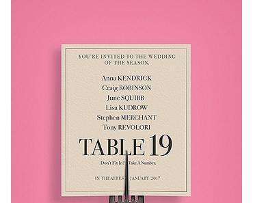 Table 19 – Liebe ist fehl am Platz (2016)