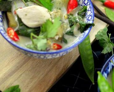 Thai Green Curry nach Jamie Oliver