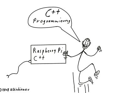 In 15 Minuten zum eigenen C++ Programm zum ausgeben der Systemtemperatur des Raspberry Pi Zero W – Teil 2