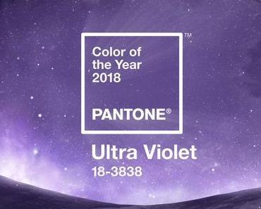 Schillernd: Ultra Violet ist die Trendfarbe 2018