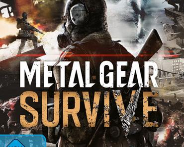 Metal Gear Survive - Neues Video mit finaler Packshot