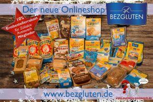 Glutenfreie Produkte im Bezgluten Onlineshop – Großes Gewinnspiel