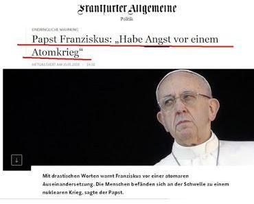 Abfall vom Glauben? - Papst hat Angst vor der Offenbarung Gottes