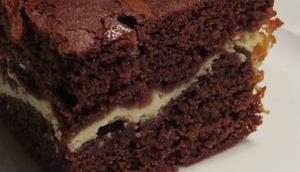 """""""Milchmädchen""""-Eierlikör-Brownies"""