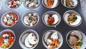 nachgekocht: Eier- Gemüse- Muffins