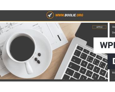 Webdesign-Vorstellung WPBoolie