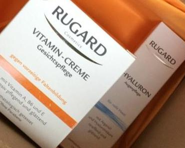 Rugard Cosmetics Vitamin-Creme und Augenpflege