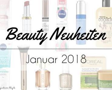 Beauty Neuheiten Januar 2018 – Preview