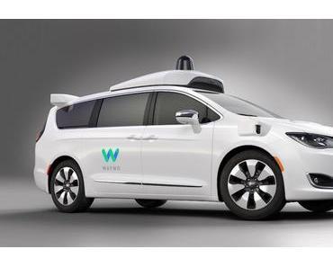 Autonome Shuttle: Waymo kauft mehrere Tausend Minivans von Fiat Chrylser