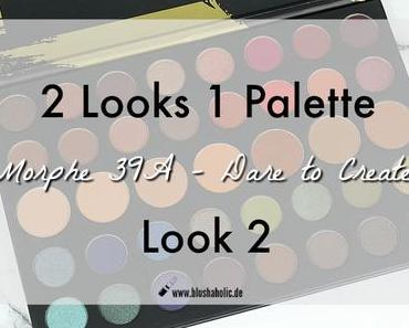 |2 Look 1 Palette| Morphe Dare To Create 39a - Look 2
