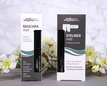 Die 3-in-1 Mascaras von medipharma cosmetics!