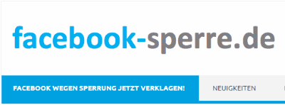 facebook-sperre.de