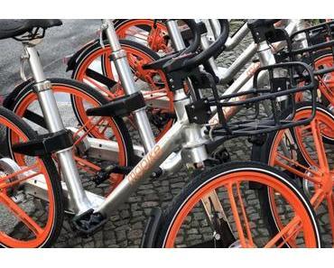 Bike-Sharing: Mobike soll sich nach verfehlter Fusion 1 Milliarde Dollar gesichert haben