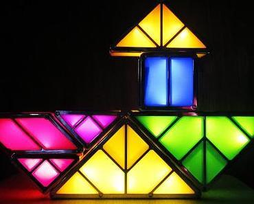 Let's play Tangram - Dekorative Leuchtideen für Verspielte