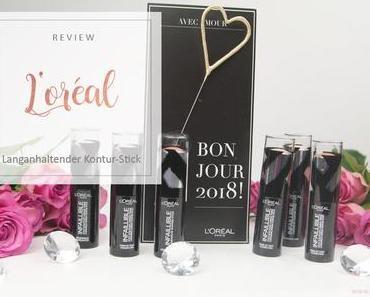 L'Oreal - Infaillible Foundation Kontur-Sticks - Review [Werbung]