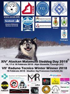 XIV. Alaskan Malamute Sled Dog Day 2018