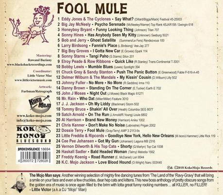 FOOL MULE – The Funny Side of Rhythm And Blues (Compilation)