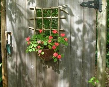 10 schöne Gartentore aus Holz