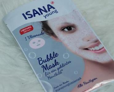Isana young Bubble Mask Tuchmaske Review