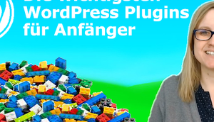WordPress Plugins Anfänger [Webinarvideo]