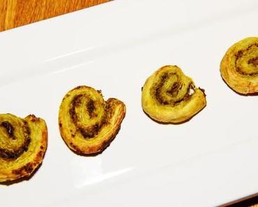 Vegane Pesto-Schnecken