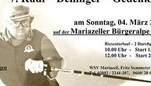Einladung Rudi Dellinger Gedenklauf