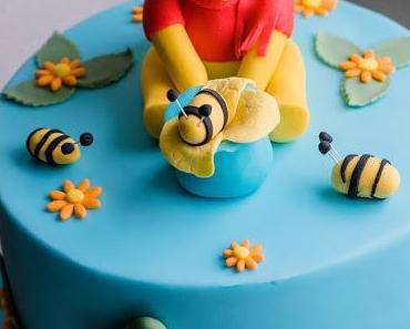 Winnie the Pooh Torte für 1. Geburtstag
