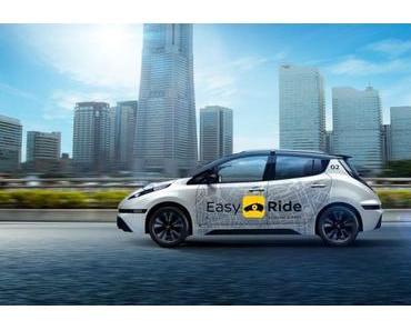 Nissan testet mit DeNA autonome Taxis in Japan